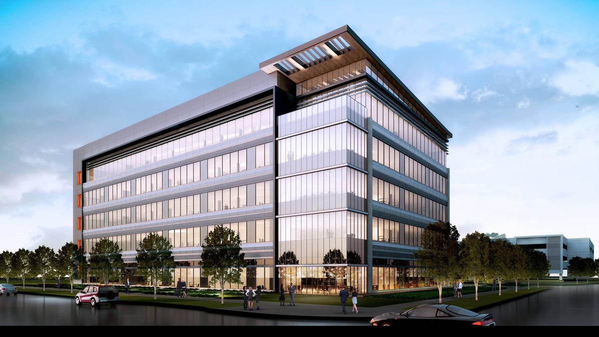 luxury office park gets underway in growing north texas office corridor