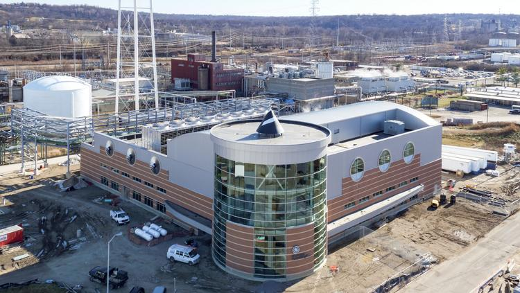 Ge Aviation S 60 Million Utility Plant In Ohio Will Look