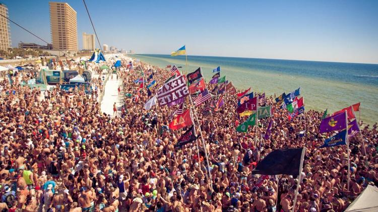 SOUTH PADRE ISLAND, Texas<br> Hordes of college students from across the  country