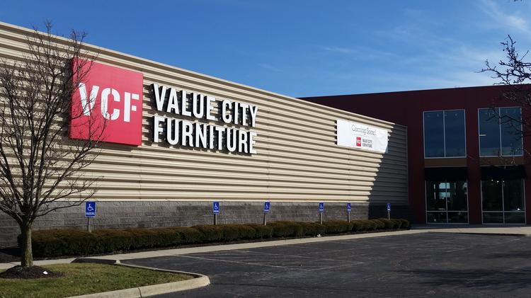 value city furniture took over a former kittle 39 s space near the tuttle