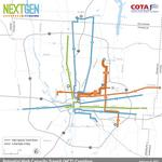 Light rail from Franklinton to Columbus State? COTA considering 3 routes for rapid mass transit
