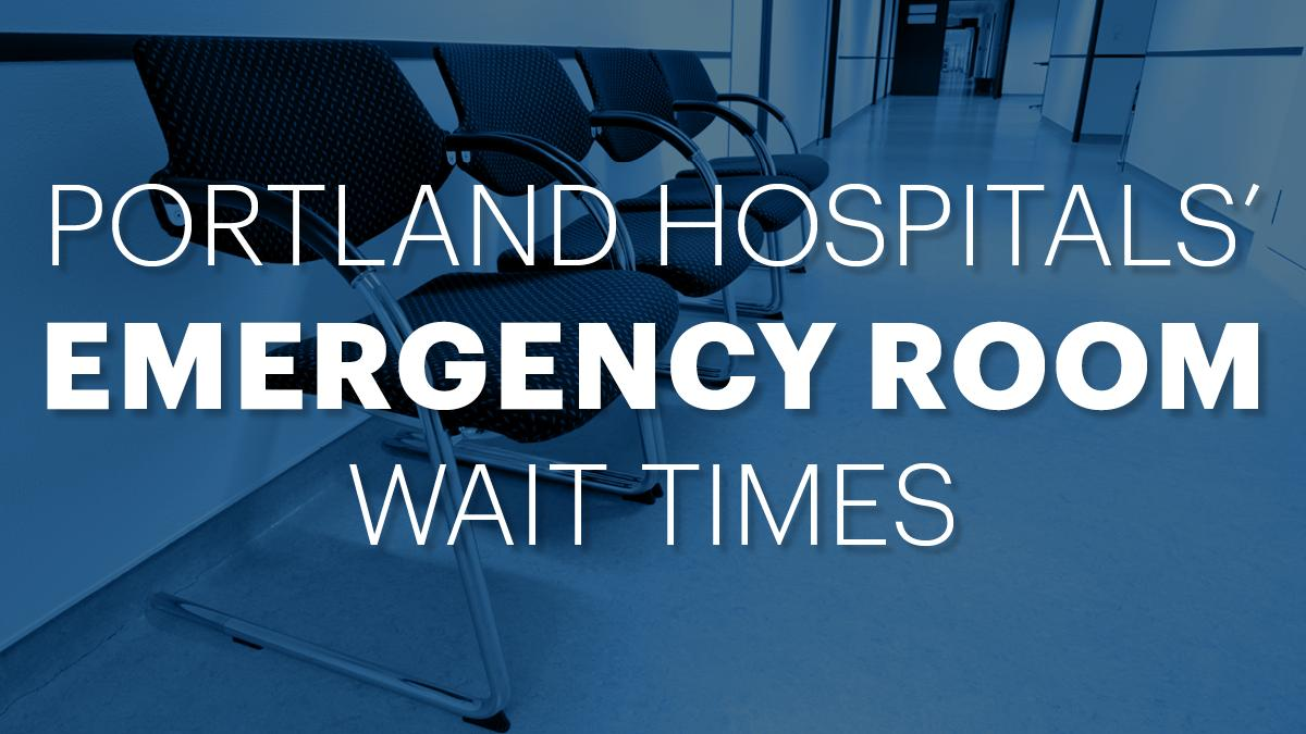 Emergency Room Wait Times Data