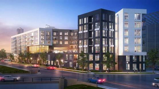 Apartment Complex 322-unit apartment complex to break ground near downtown denver