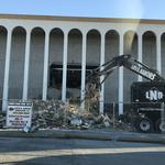 Demolition crews scrapping North Dallas' Macy's store at Valley View Center