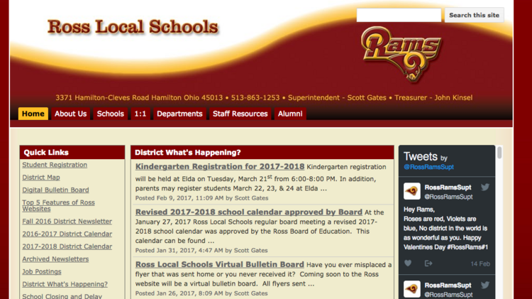 10:</b> Ross Local School District<