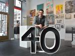 Tony Iadicicco's passion for art led him to the Albany Center Gallery
