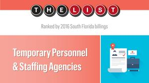 The List: Temporary Personnel & Staffing Agencies