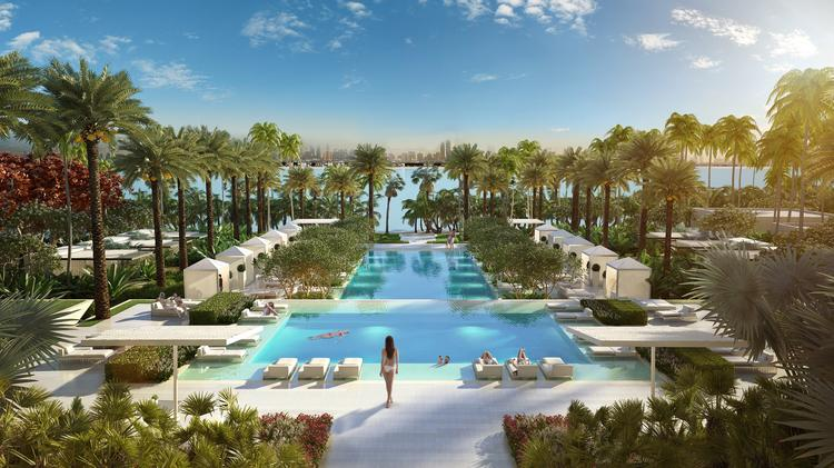 How two small kc firms ended up on a 1 6b project in dubai photos kansas city business journal for Royal swimming pools memphis tn
