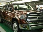 Toyota's U.S. truck sales decline through first quarter