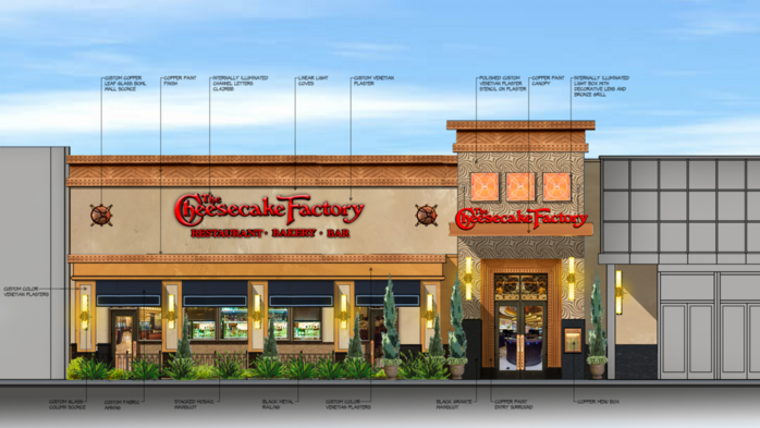 Cheesecake Factory planned for Ridgedale Center