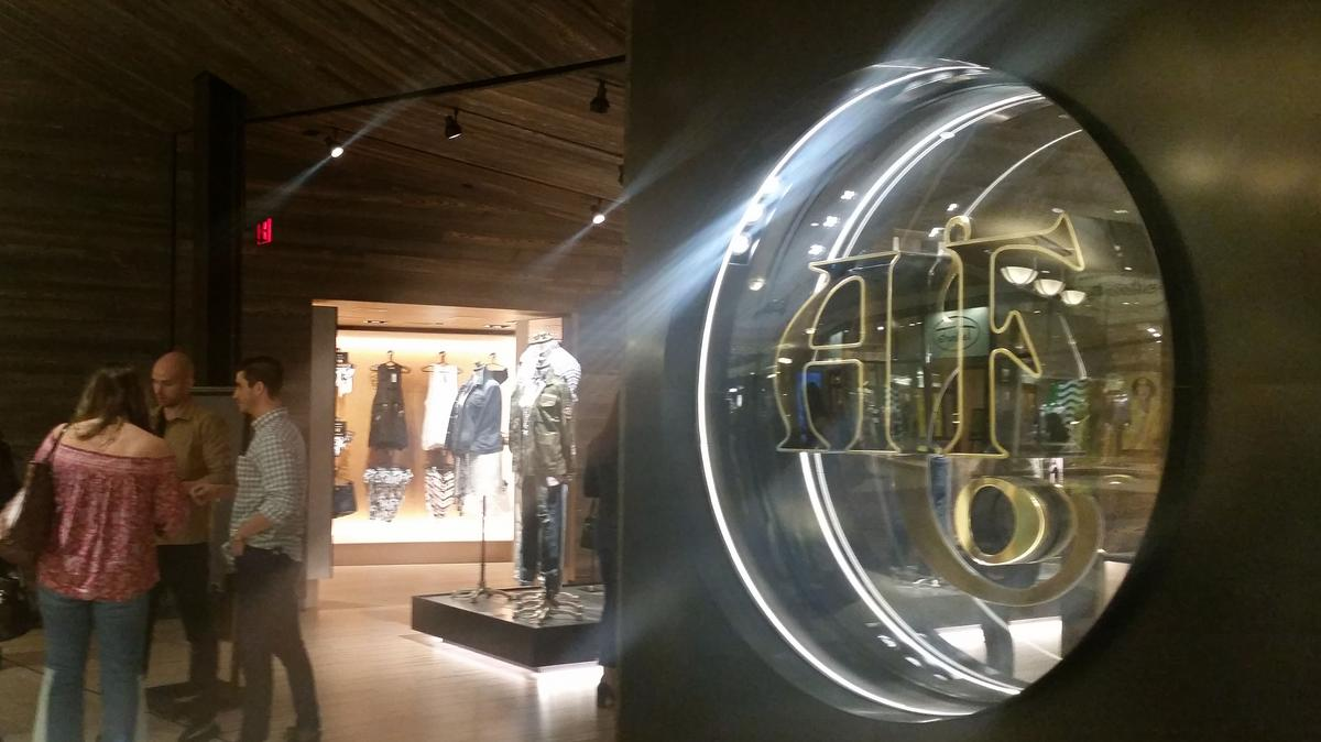 Abercrombie Amp Fitch Opening Prototype Store In Hong Kong