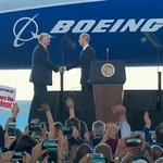 Boeing to lower aircraft prices with Trump's corporate tax cuts