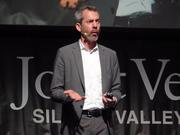 Jeffrey Tumlin, director of strategy at Nelson/Nygaard Consulting Associates, speaks at the 2017 State of the Valley Conference in San Jose on Feb. 17, 2017.