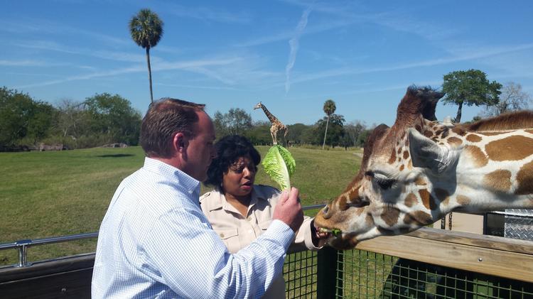Busch Gardens Tampa Bays new president Stewart Clark talks top