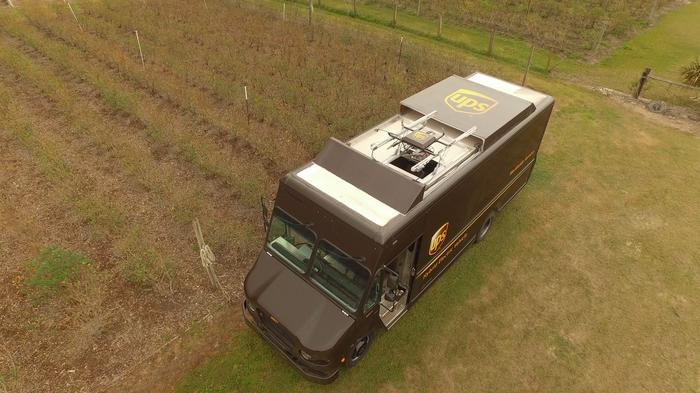 UPS tests a delivery drone that's launched from a truck (SLIDESHOW)