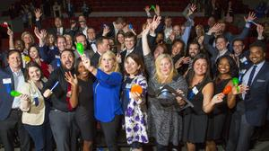 Dance moves and on-stage antics highlight 40 Under 40 event (PHOTOS)