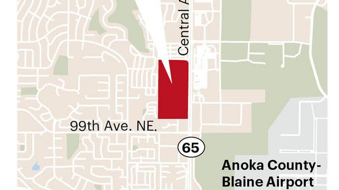 Blaine, landowner hope to spark major retail development on Highway 65