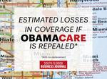 Here's how many people could lose Obamacare coverage in your district