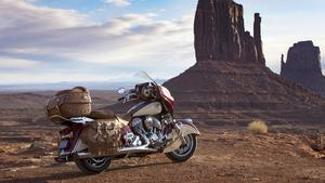 Polaris lathers on the leather for new Indian Roadmaster