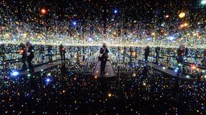 Hirshhorn sees massive increase in membership ​for Kusama's 'Infinity Mirrors'