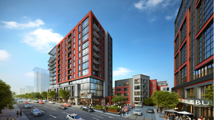 Developer launches $80 million, 12-story project in the Triangle