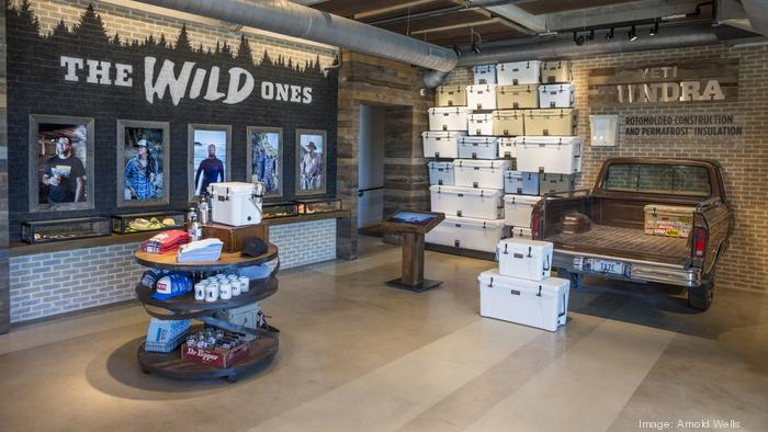 Yeti Coolers to open first store today