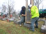 Volunteers, donors rally for damaged Jewish cemetery