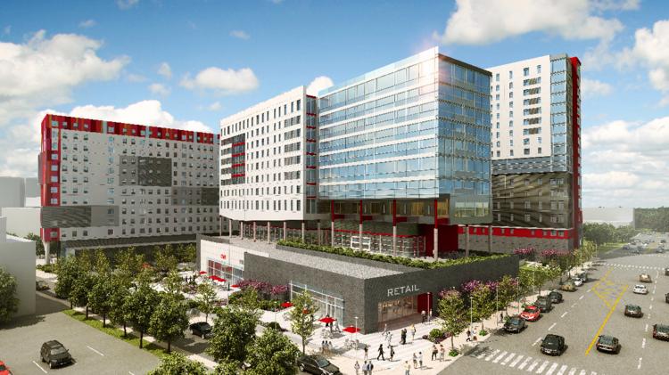 Goldenberg Group tops off Temple University student housing