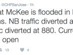 Floods force Highway 101 to shut down in San Jose
