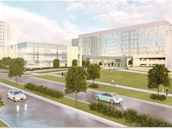 SSM reveals first look at new SLU Hospital