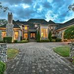 Home of the Day: European Inspired Country Home Overlooking 1st Fairway & 8th Green