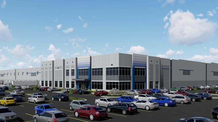 Massive speculative warehouse coming along I-75 in Warren County