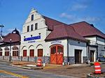 Hofbräuhaus Buffalo heading from Canalside to former Upstate Milk site