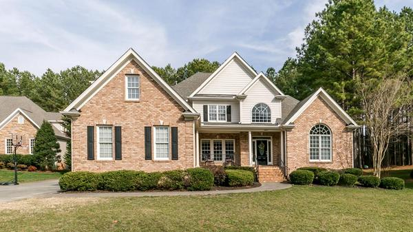 Custom Home on Private, Wooded Lot
