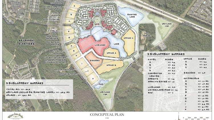 Update savannah company acquires 162 acres for resort style conceptual plan for hd companies pooler tract project malvernweather Choice Image