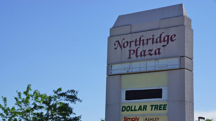 A 2013 Photo Of The Northridge Plaza Sign