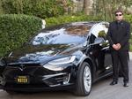 Morgan Freeman went from client to investor in this Tesla-only black-car service