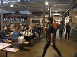 Food halls serve up unique experience