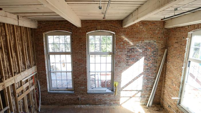 PHOTOS: 1898 Waxhaw cotton mill being converted to apartments, restaurant space