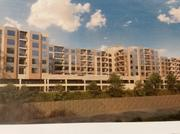 A rendering of planned 157-unit Overlook at Roland Park.