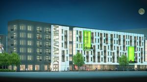 Bucks name developer for arena district apartments