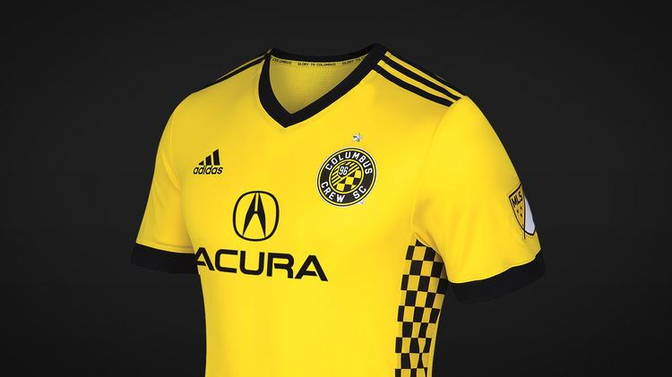 d79ddb38b79 Columbus Crew SC's jersey sponsor for the 2017 season is luxury automaker  Acura.