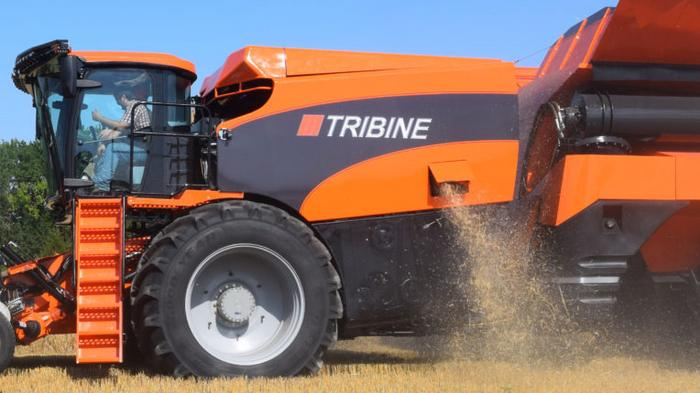 Start-up combine manufacturer increasing production