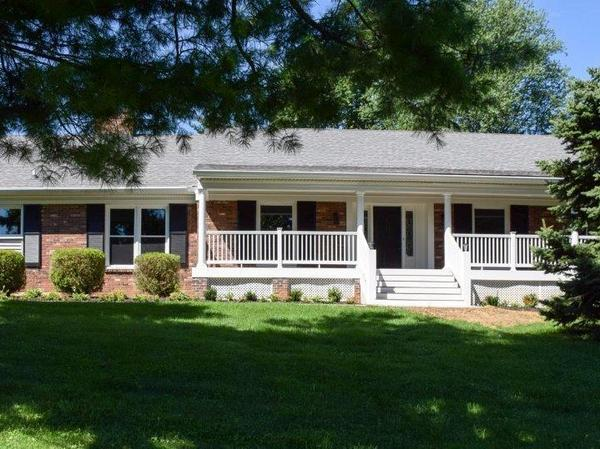 Beautiful Cape Cod Situated on 1.26 Acres in one of Louisville's Most Luxurious East End Corridors