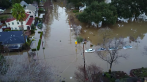 Aerial video shows intensity of flooding in San Jose as thousands remain evacuated