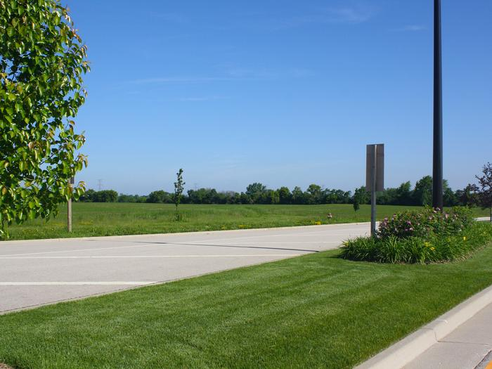 The property is located off Interstate 94 and has gone undeveloped under Abbott Labs ownership.