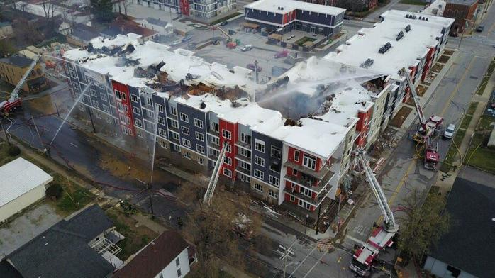 Breakwater apartments developer says it will rebuild after fire
