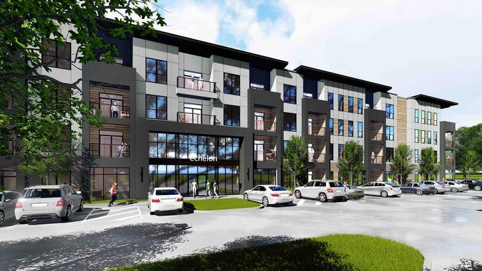 Here's the latest on Echelon, a $30 million apartment project east of Cincinnati