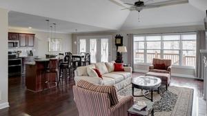 5 Bedrooms & 3 Full Bath Walk-out Ranch in Glen Lakes is Open and Light!