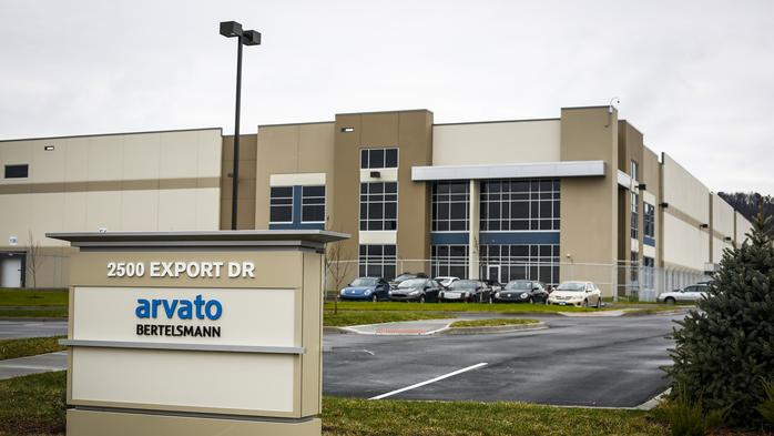 German company invests more than $20 million in giant Louisville distribution center